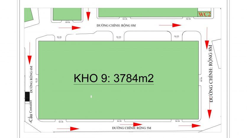 Hữu Toàn Logistics- Kho 9