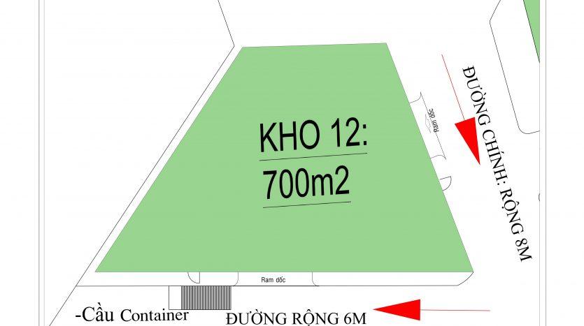 Hữu Toàn Logistics- kho số 12