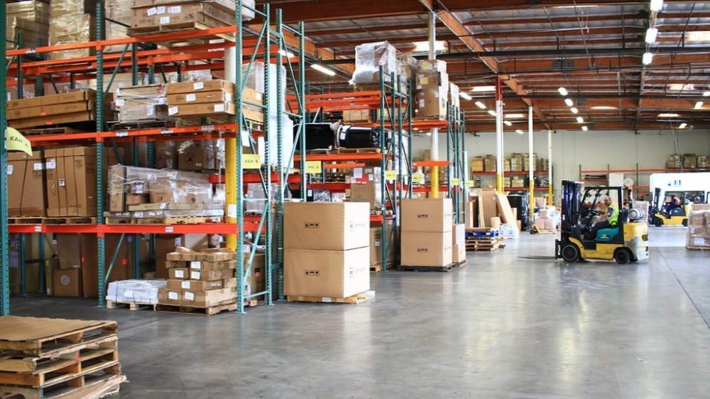 Kho bãi logistics